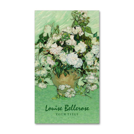 Floral Designer Stylist Business Cards