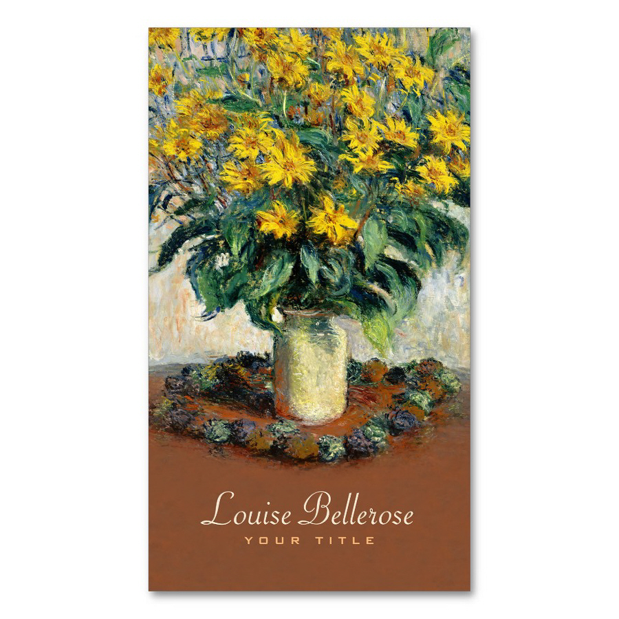 Flower Shop Designer Business Cards