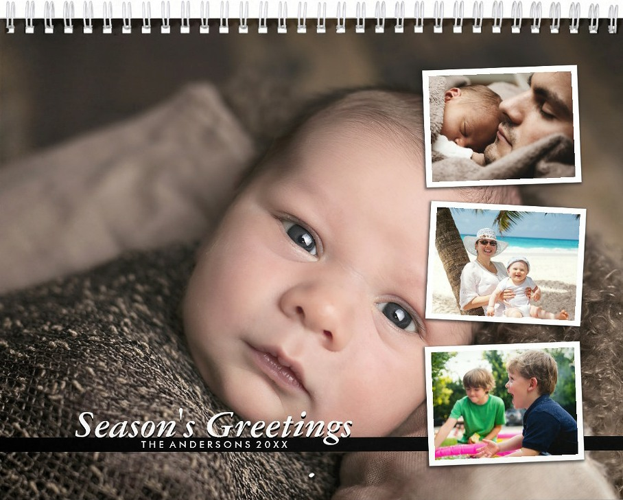 Personalised 2017 photo calendar