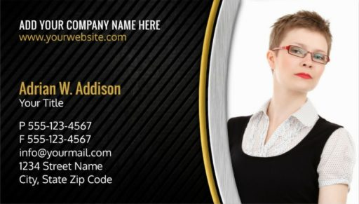 Creative Real Estate Photo Business Cards - Insurance Agent Cards