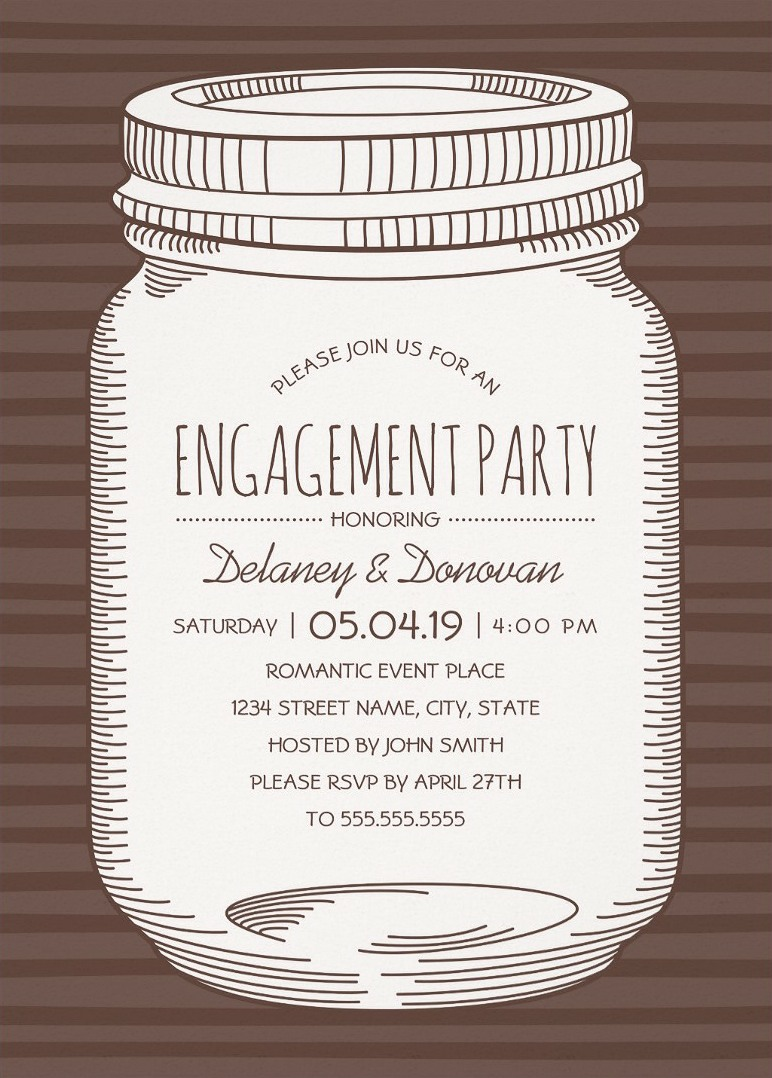 rustic engagement party invitations Archives Superdazzle – Vintage Engagement Party Invitations