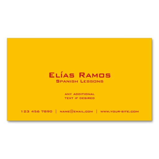 Business cards for spanish teachers image collections card design business cards for spanish teachers thank you for visiting reheart nowadays were excited to declare that we have discovered an incredibly interesting colourmoves