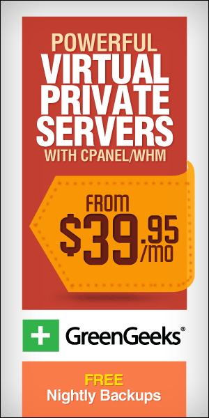 Powerful virtual private servers