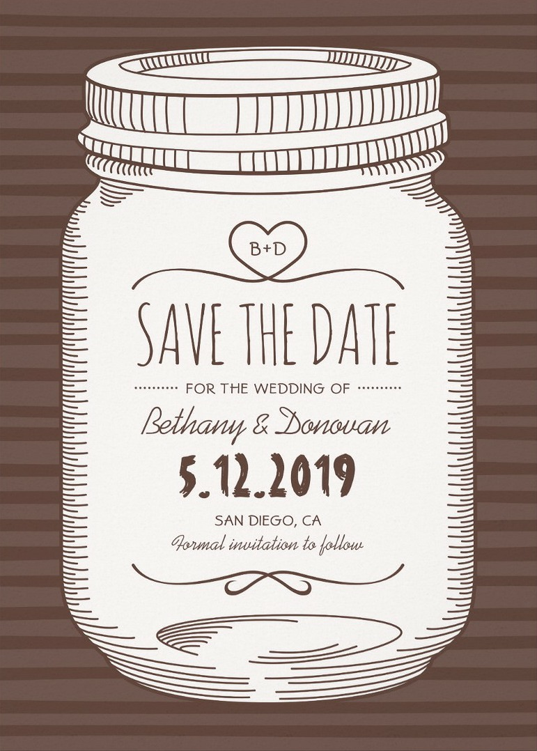 Wedding Save the Dates Archives - Superdazzle - Custom Invitations ...
