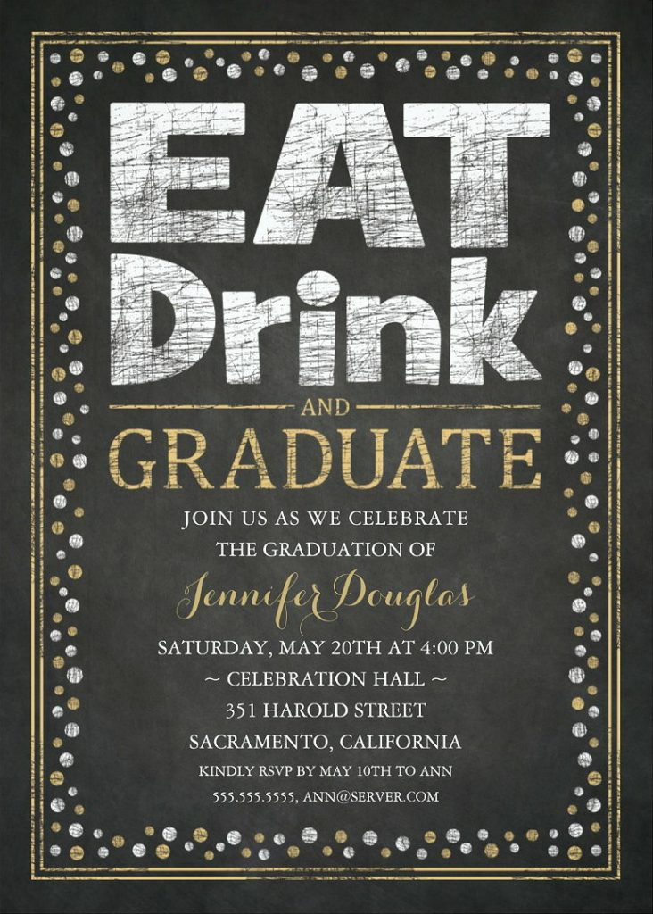 Graduation Party Invitations Unique Grad Party Invitations