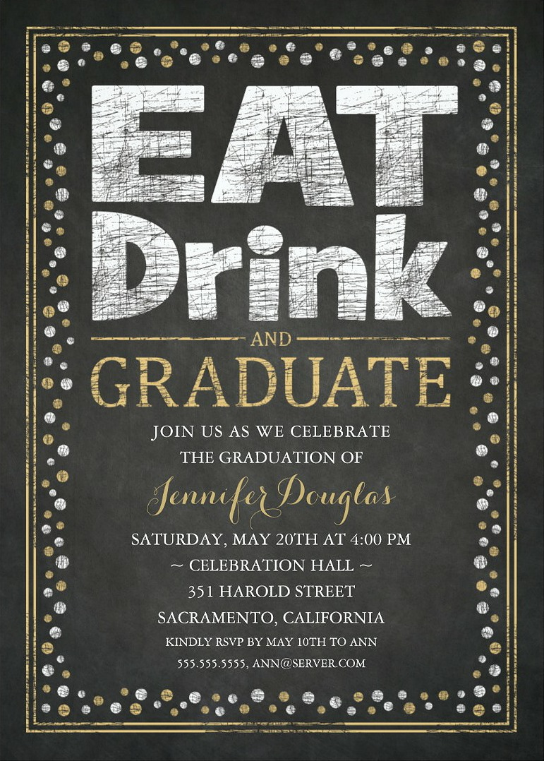 Party Invitations Unique Grad Party Invitations – Grad Party Invites