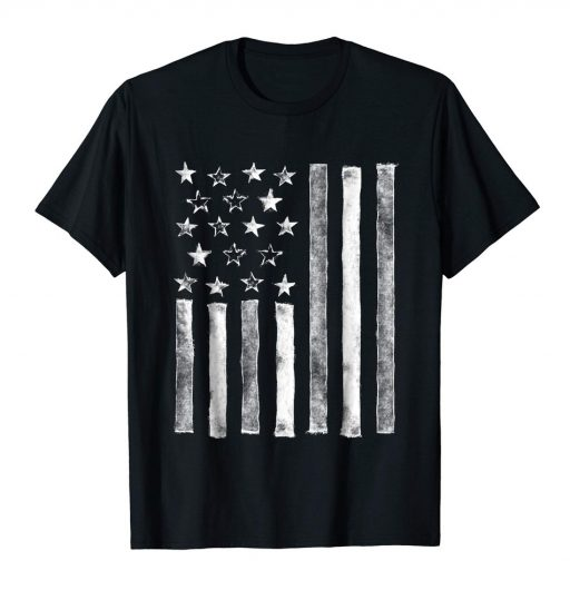 Cool American Flag Shirt Special USA Patriotic 4th of July Tee