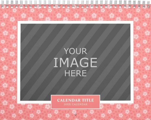 Family Wall Calendar Template - Seasonal Patterns