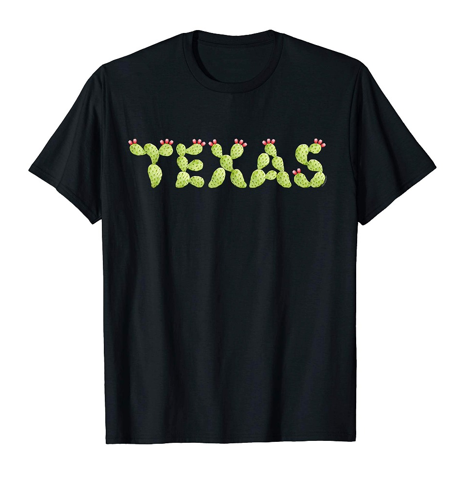 Texas Cactus T Shirt For Women Men Youth | Cool Texas Tee