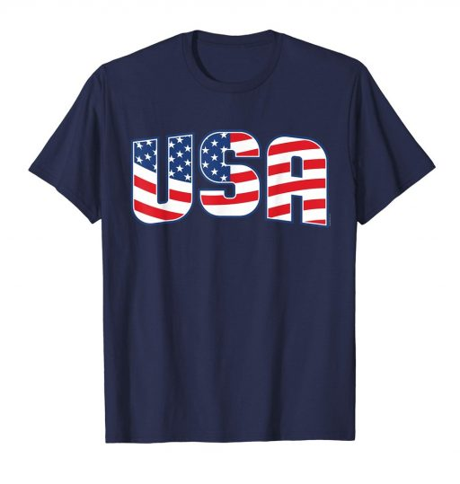 USA American Flag T Shirt - Patriotic Shirt - 4th of July Tee
