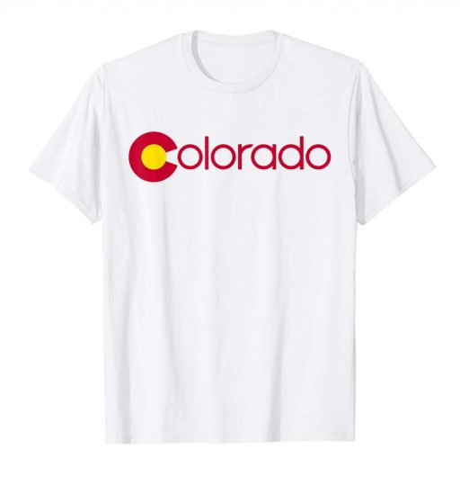 Colorado T Shirt For Women, Men & Kids
