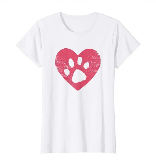 Dog Mom Shirt - Dog Paw Print T Shirt For Dog Lovers