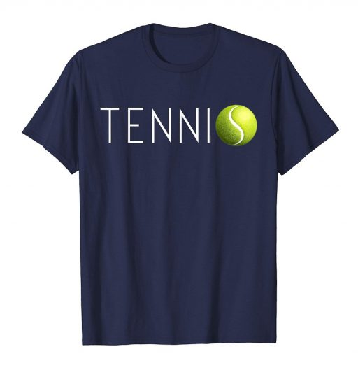 Tennis T Shirt Cool Tennis Ball Tee