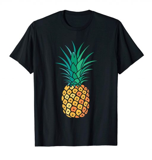 Pineapple T-Shirt Fun Summer Tee For Women & Men