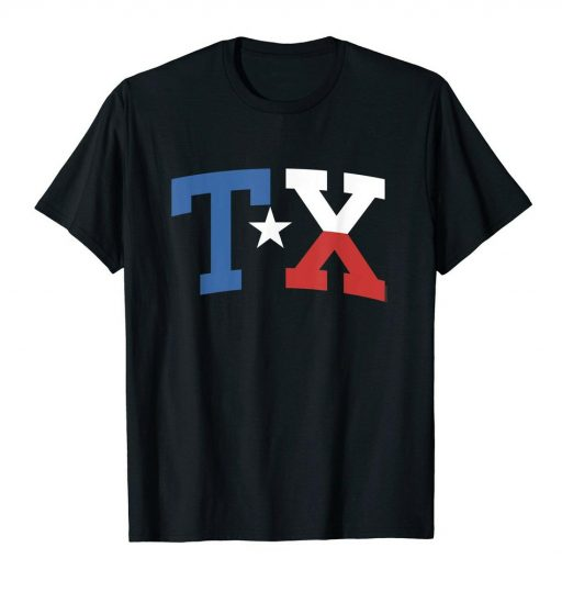 Texas T Shirt For Women Men Youth Texas State Flag TX Shirt