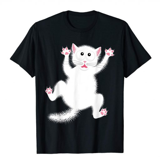 Funny Cartoon Cat Shirt - Halloween T-Shirt