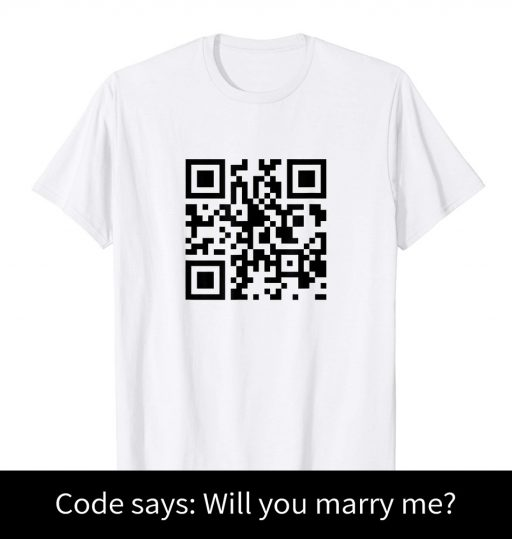 Wedding Proposal Idea - Will You Marry Me T Shirt - Original Idea